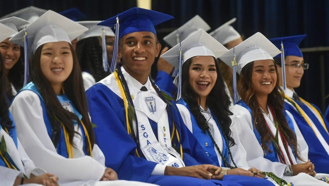 The Guam High School 19th Annual Graduation Commencement Ceremony was held at the Guam High School Gymnasium in Agana Heights on June 10.