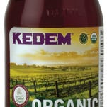 Kedem Grape Juice is part of Whole Foods' new kosher section.