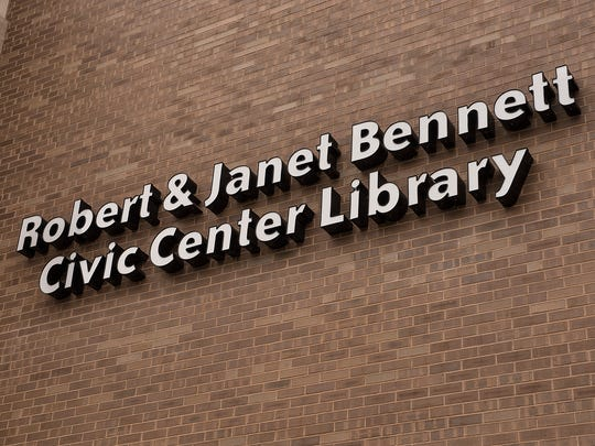 The Robert and Janet Bennett Civic Center Library