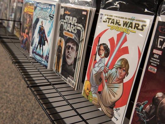 Ryan Hetkowski says that Star Wars related comics are always popular.