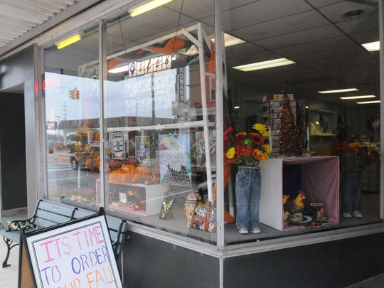 The storefront of Gifts and More Galore located at 168 Water Street in Oak Harbor.