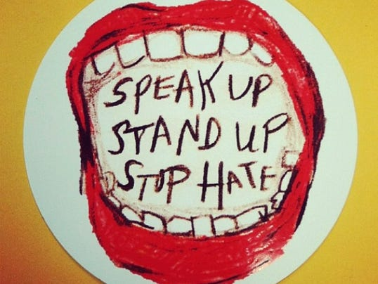 Watchung Hills High School's 2013 anti-bullying campaign