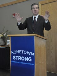 Governor Roy Cooper launched his Hometown Strong initiative