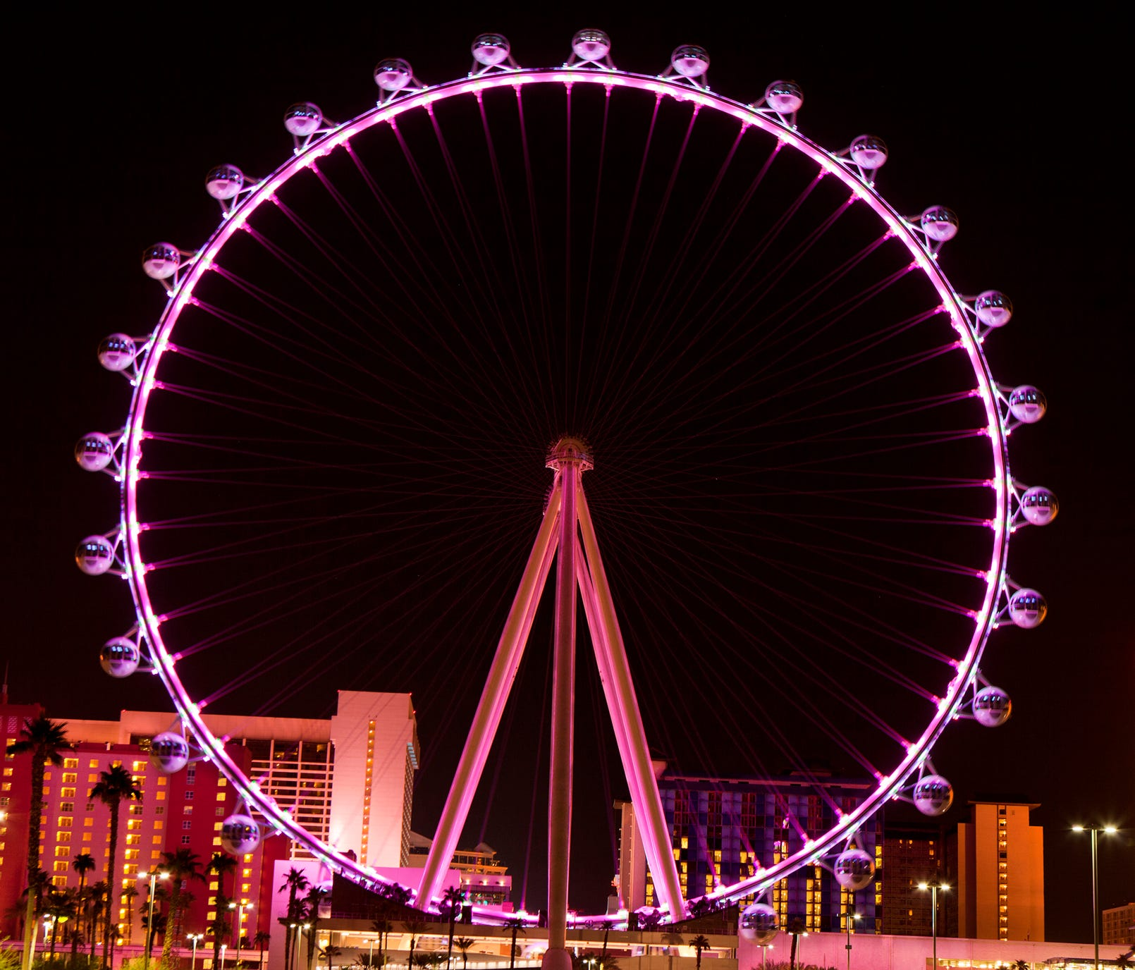 Nevada: High Roller  Price: $18 for an adult ticket during the day  Location: Las Vegas  For $18 you can ride the world's tallest observation wheel — basically just a massive ferris wheel. Ride at night to see the city lights in all their glory.