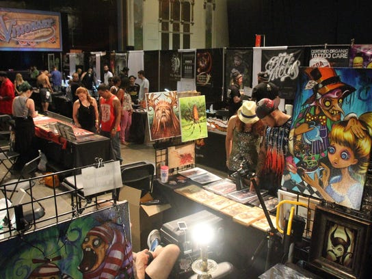Visionary tattoo arts festival returns to asbury park for Tattoo shops in ocean county nj