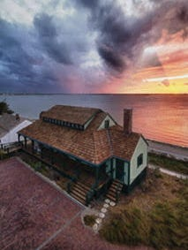 The House of Refuge on Hutchinson Island