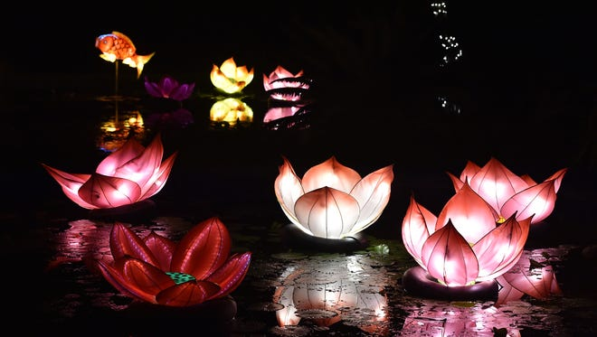 The Nights of Lights at McKee Botanical Garden is Friday, Saturday and Sunday in Vero Beach.