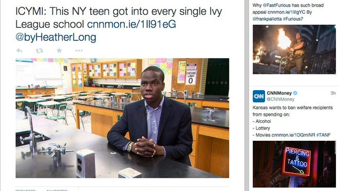 High school teen Harold Ekeh has been accepted to all eight Ivy League schools.