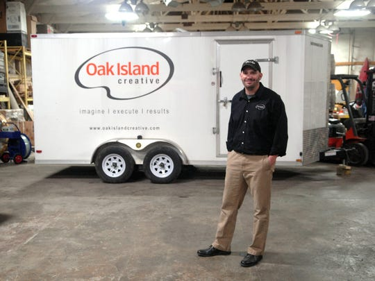 John Hawkins is always prepared to hit the road for a job, though he calls Crestwood home.