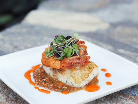 ZuZu: The Chilean sea bass and crispy shrimp at ZuZu.