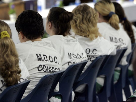 Mississippi Department of Corrections wants to replace current inmate uniforms with the word M.D.O.C. Convict on the back.