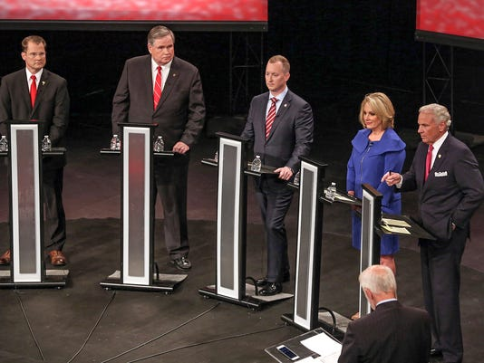 GOP SC GOV Primary Debate Clemson University