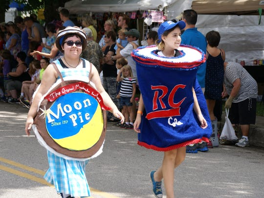 The RC-Moon Pie Festival in Bell Buckle always draws a crowd to celebrate the Moon Pie snack.