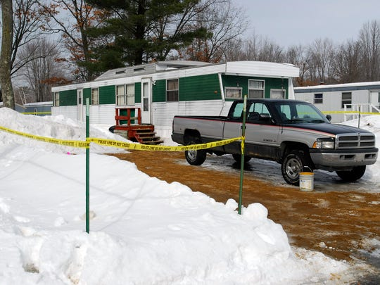 This Wisconsin Rapids mobile home in Wisconsin Rapids was the scene of a homicide in 2008.