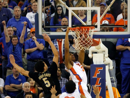 NCAA Basketball: Vanderbilt at Florida