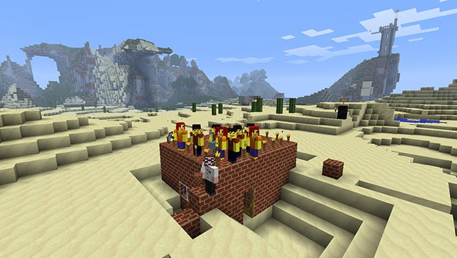 Parents and experts agree that Minecraft can be used to inspire and educate.