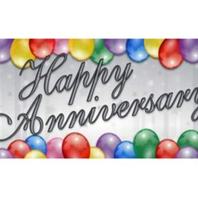 Anniversaries: Wayne Cooley Sutherland & Frances Cooley Sutherland