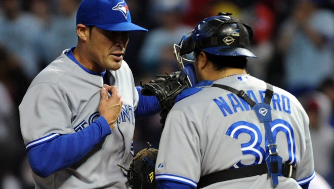 Blue Jays reliever Sergio Santos hasn't exactly been lights-out since taking over the closer's job. Although he has five saves in six chances, he also has a 7.11 ERA.