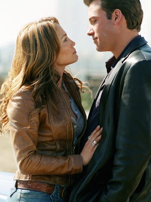 """Jennifer Lopez and Ben Affleck starred together in the 2003 rom-com """"Gigli."""""""
