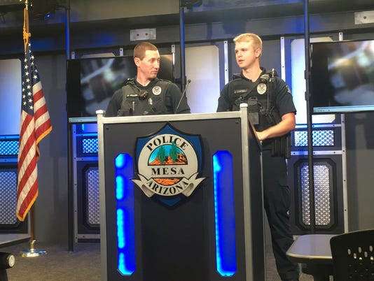 Officers Mike Mullen and Jake Campbell