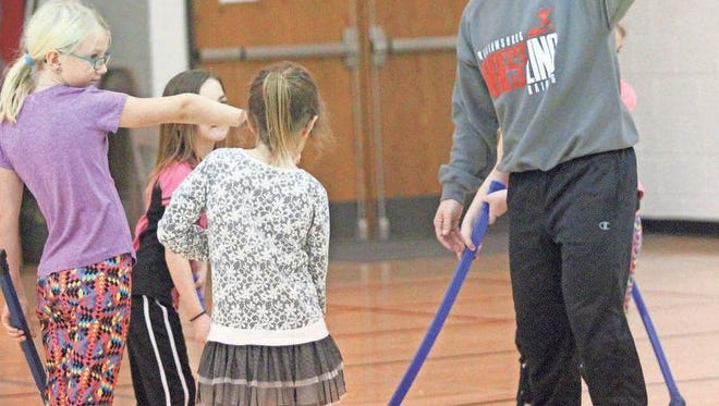 Williamsburg's Grant Eckenrod has seen changes in physical education, with a greater emphasis and health.