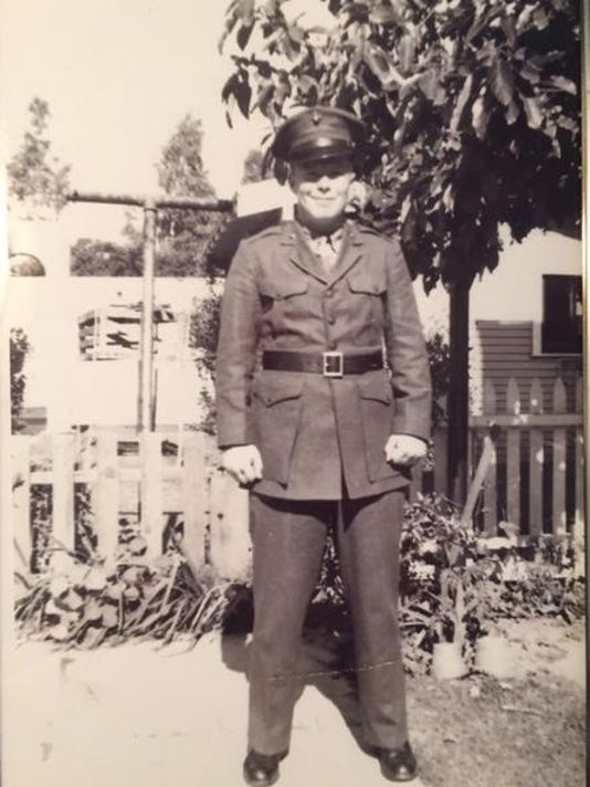 Donald Folsom PHS 1942 Pacific WWII