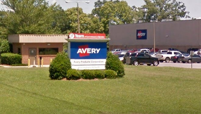 Avery Products Corp. in Meridian, Miss.