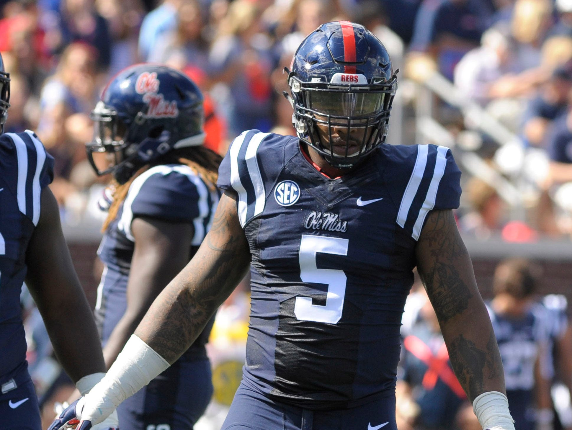 Ole Miss defensive tackle Robert Nkemdiche was one of three Rebels projected to go in the top 10 of a recent CBS Sports mock draft.