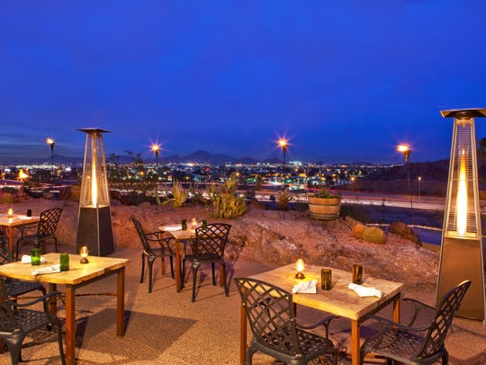Top of the Rock at Phoenix Marriott Tempe at The Buttes.