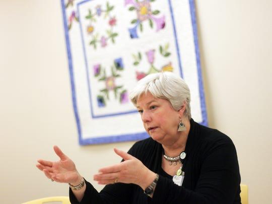 Willamette Valley Hospice executive director Pam Matthews