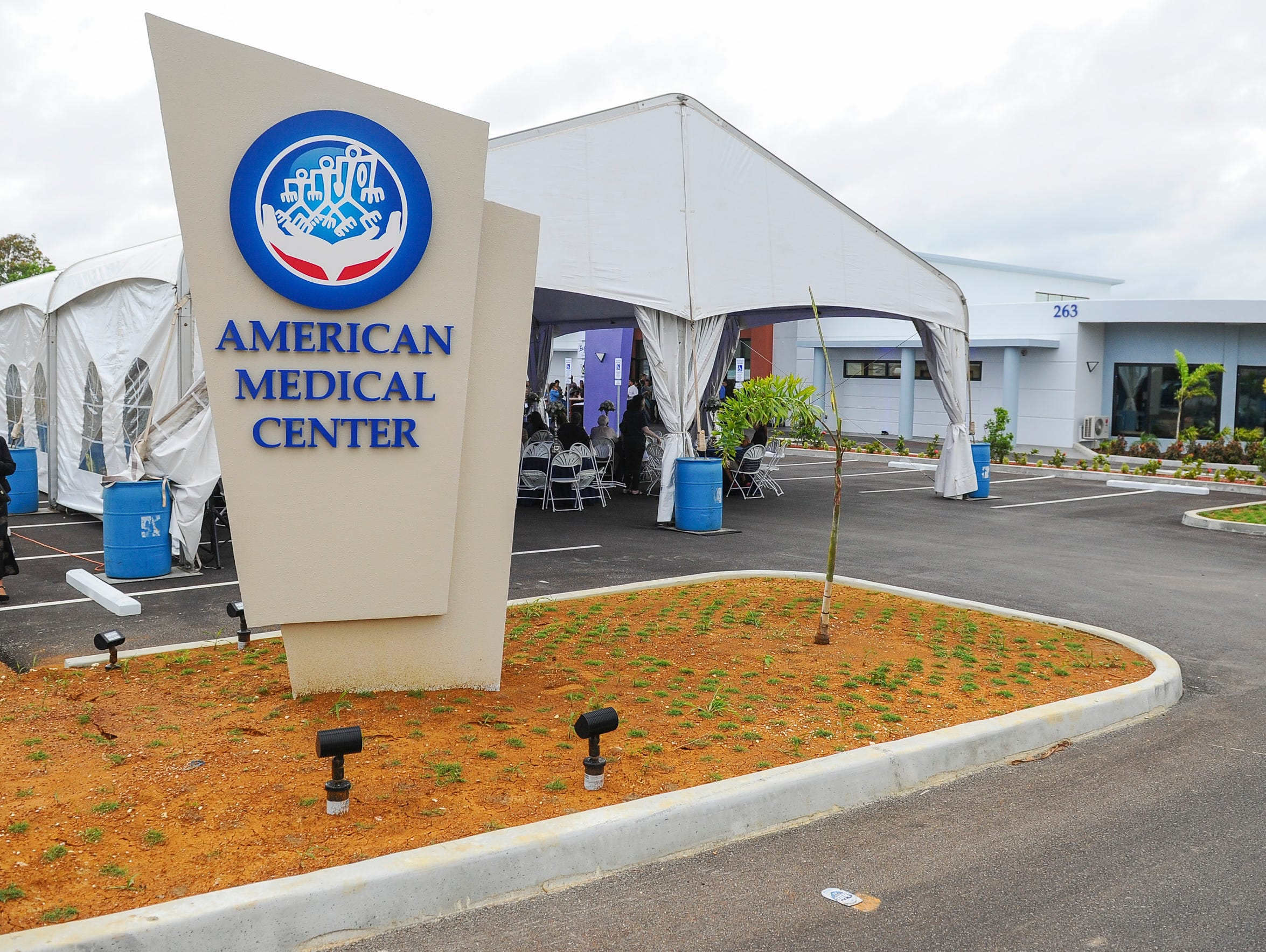A grand opening celebration was held for American Medical