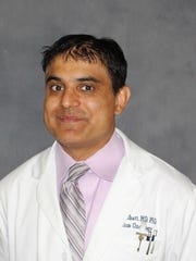 Amit Bhatt, M.D., Ph.D., radiation oncologist at McLaren
