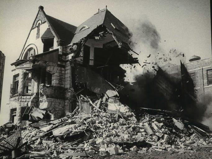 The Elizabeth Plankinton mansion, built in 1886 at