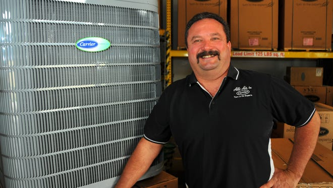 Gary Whitlock, president and owner of Able Air in Melbourne, offers advice to consumers considering purchasing an air conditioner for the home.