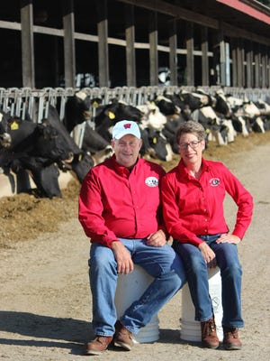Lloyd and Daphne Holterman, co-founders of Rosy-Lane Holsteins in Watertown, have won the 2020 US Dairy Sustainability Award.