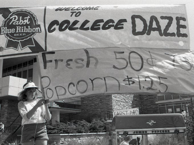College Days, also known as College Daze, ended after