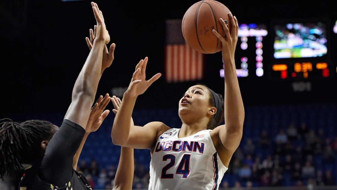 March Madness female players graduate more often than men