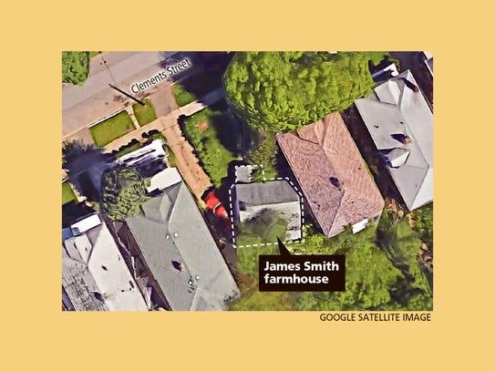 James Smith farmhouse