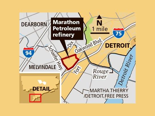 Marathon Petroleum refinery
