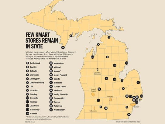 Which kmarts are actually open who still shops there few kmart stores remain in michigan gumiabroncs Images