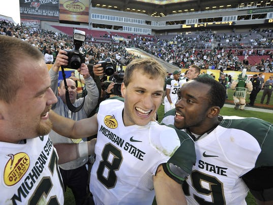 Michigan State Outback bowl (Couch column)