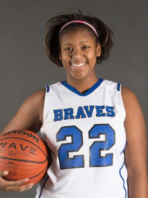 Williamstown senior forward Taylor Bynoe is averaging a team-high 19.1 points and 8 rebounds.