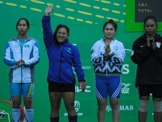 "Jacinta ""Ja"" Sumagaysay, second from left, set three"