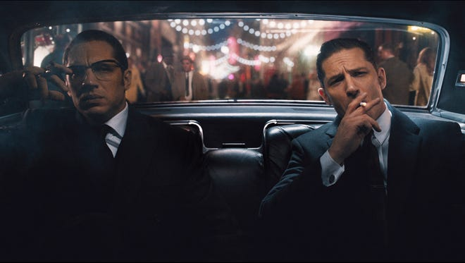 'Legend' starring nerdy Tom Hardy and chill Tom Hardy.