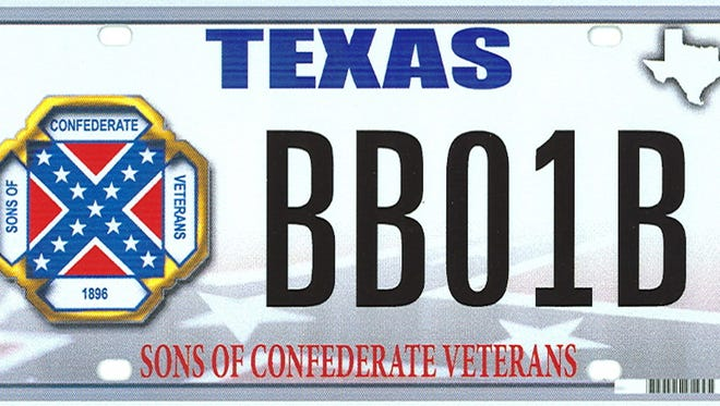 The Sons of Confederate Veterans are challenging Texas' refusal to issue a specialty license plate.