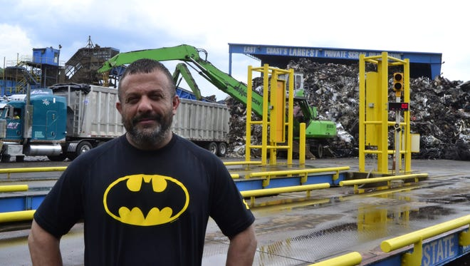 Adam Weitsman is the owner of Upstate Shredding-Weitsman Recycling.