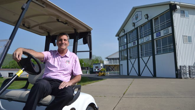 Dave Pessagno is marketing and promotions director of the Dick's Sporting Goods Open and event coordinator of the Spiedie Fest and Balloon Rally.