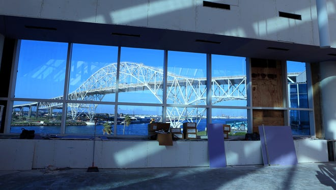 The Texas State Aquarium's Caribbean Journey $56 million expansion includes a 65,000-square-foot, four-story addition that includes a science, technology, engineering and math education center. The grand opening is May 13.