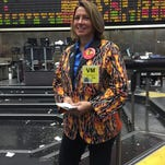 Trader Virginia McGathey has been on the floor since 1976, when she started as a runner.