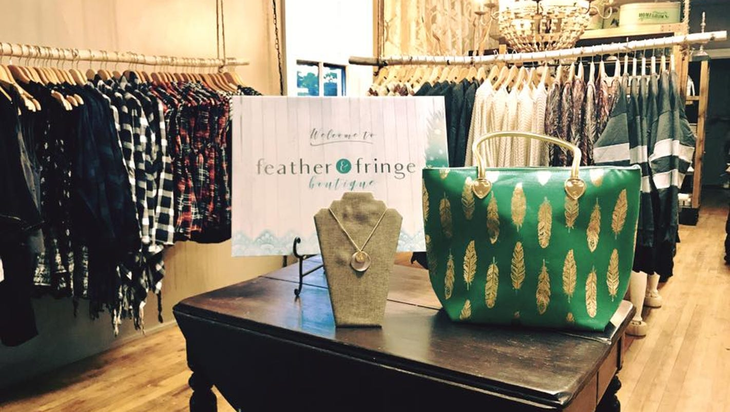 Shopping Outside The Box Feather And Fringe Boutique Opens In Mukwonago